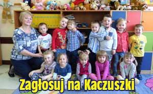 Zagłosuj na nasze przedszkolaki