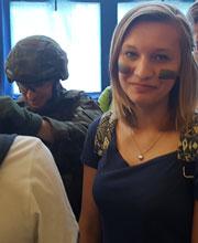 Żołnierze z wizytą