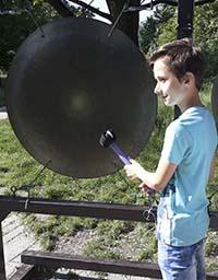 Lekcja fizyki w Krakowskim Ogrodzie Doświadczeń
